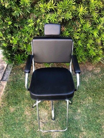 Cadeira Desktop Fixa (hidráulica)  - Foto 3