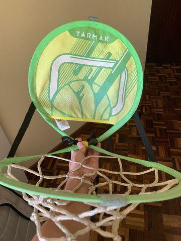 Cesta de basquete portátil