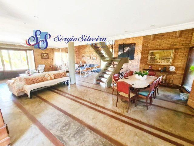 Excelente Casa no Porto das Dunas com vista mar alto padrão, amplo terreno 4 quartos - Foto 3
