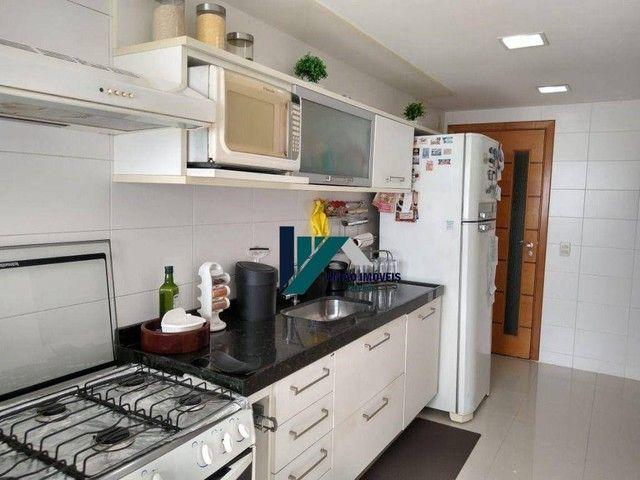 Apartamento montado, próximo ao largo do marrão, com lazer completo, 3 qts 1 suíte 1 vaga - Foto 20