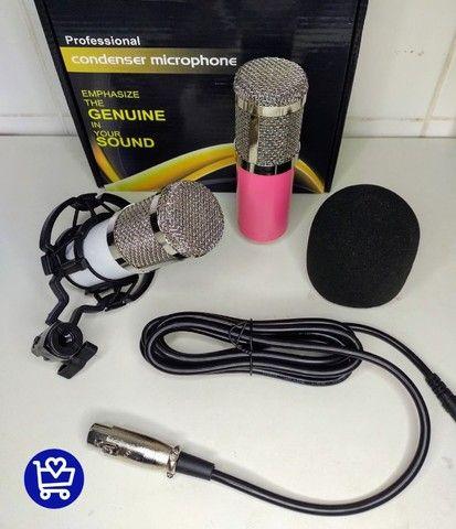 *Microfone Condensador Profissional *