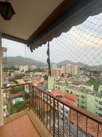 Engenho de Dentro - Apartamento com varanda, 2 quartos e vaga de garagem. - Foto 6