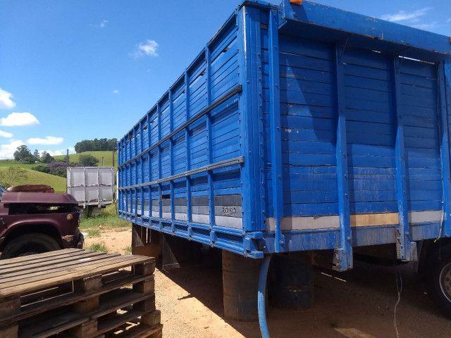 Gaiola boiadeiro para caminhão toco. - Foto 3