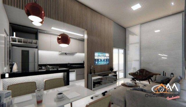 Casa com 3 dormitórios à venda, 110 m² por R$ 315.000,00 - Timbu - Eusébio/CE - Foto 4