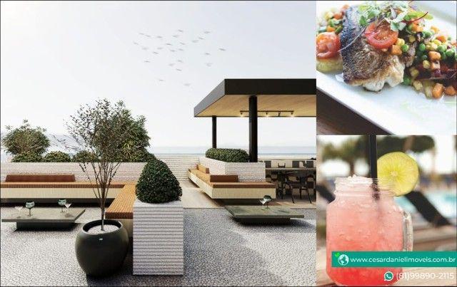 Lançamento no Centro de Porto com 2 Quartos + 50m²   Flats em Porto de Galinhas - Foto 6