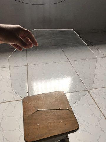 Lâminas de vidro para bolo - Foto 4