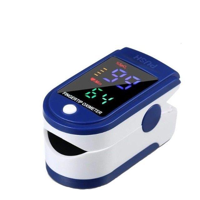 Oxímetro de Dedo / Oximetro de Pulso / Batimento Cardíaco / Oxigenação Novo