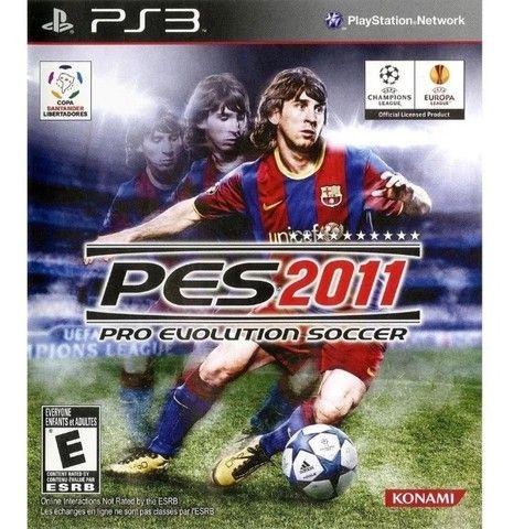 Jogo Pes2011 Playstation 3 Ps3 Mídia Física Lacrado Original