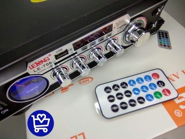 Amplificador estéreo