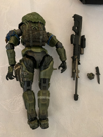 Play Arts Kay Spartan Soldier Master Chief - Foto 2