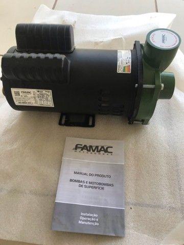 Bomba Centrifuga Monoestágio Famac Fsg-s 3cv Mono - Foto 4