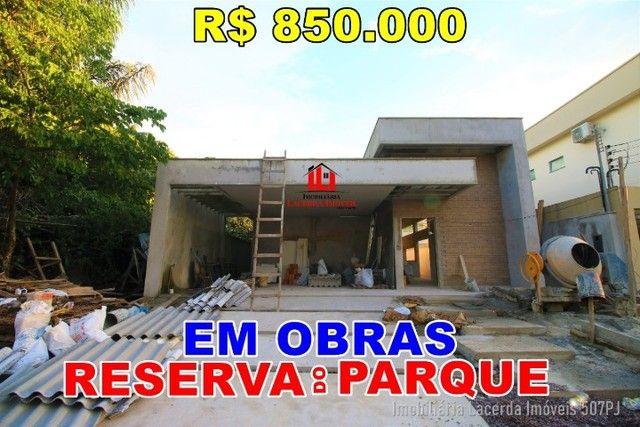 Reserva do Parque, Casa 3 suítes/Closet, Piscina, 4 vagas, negocie conosco