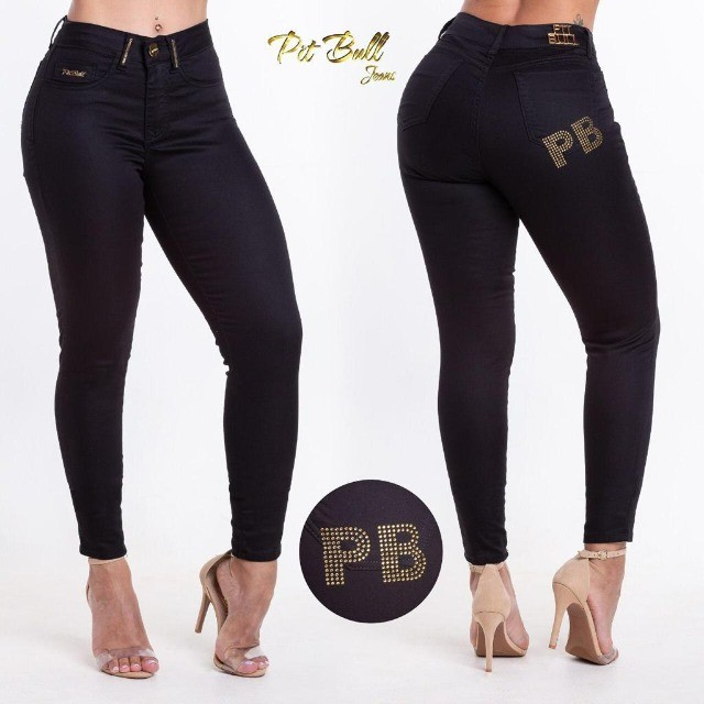 Calça Jeans Feminina Pitbull