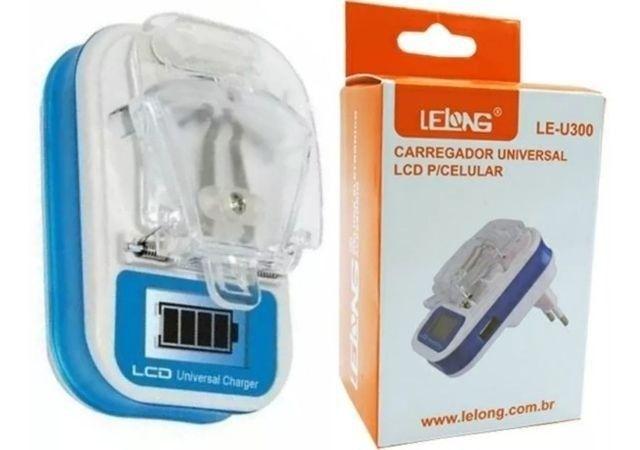Carregador Universal Para Baterias De Celular E Câmeras Lcd - Foto 2
