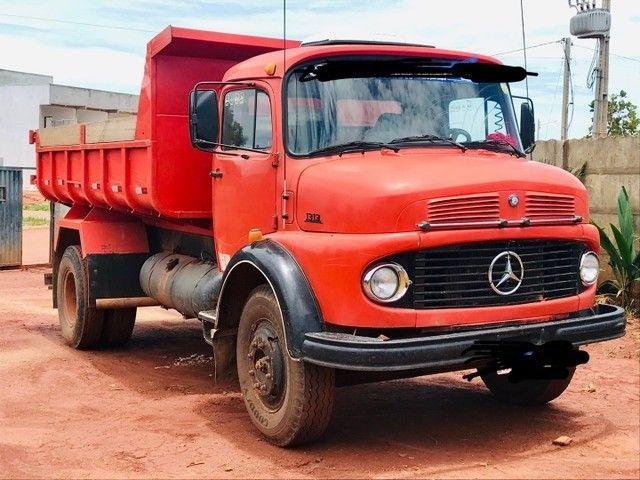 Caminhão caçamba 1113 pronto para negócio  - Foto 3