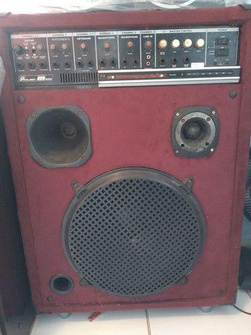 caixa de som  com blutufi  - Foto 2