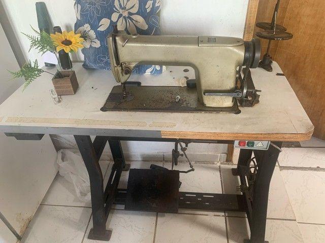 V: máquina de costura profissional singer , já com bana - Foto 4