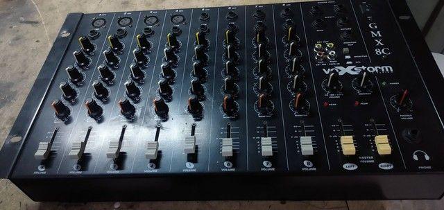 Mesa de som 8 canais  - Foto 5