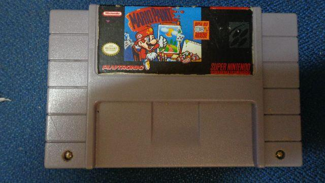 Cartucho Mario Paint Super Nintendo- Original