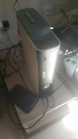 X box 360 semi novo 60gb
