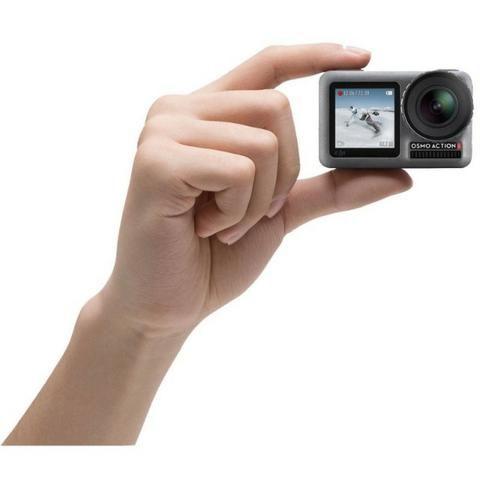 """Câmera de Ação DJI Osmo Action 2.25"""" Touch 4K Cinza - Foto 3"""