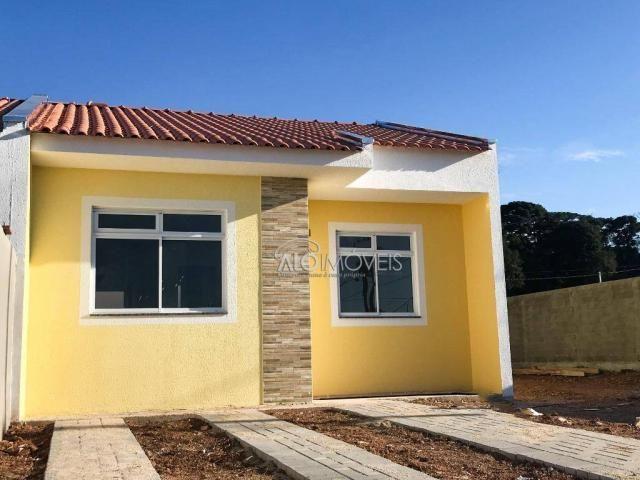 Casa com 2 dormitórios à venda, 42 m² por r$ 130.000 - estados - fazenda rio grande/pr - Foto 10