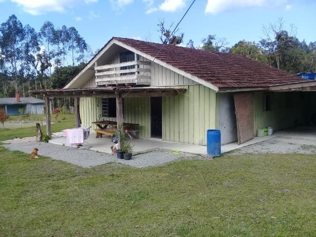 Chácara c/Terreno 6000m2 02 casas * 02 tanques c/ peixes Doc. ok - Foto 2