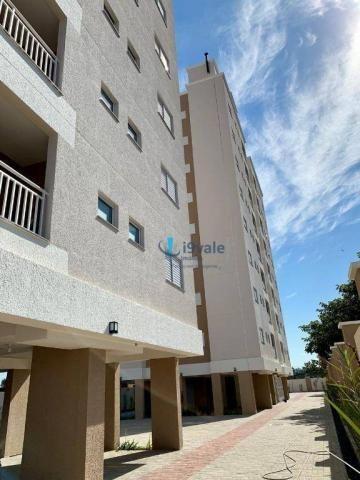 Apartamento com 2 dormitórios à venda, 56 m² por r$ 198.000 - jardim santa maria - jacareí
