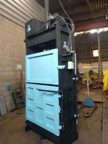 Prensas vertical para reciclagem prensa nova - Foto 2