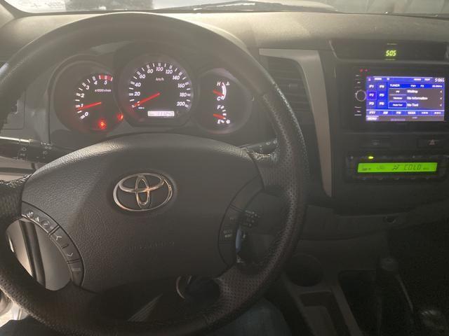 Toyota Hilux SRV 3.0 automática TOP - Foto 6
