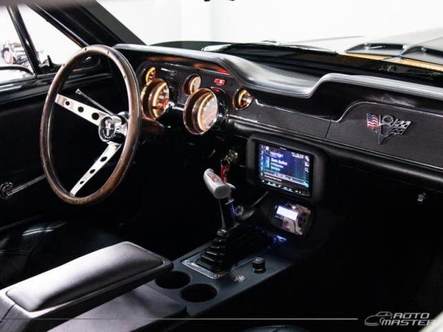 Ford Mustang GT Hard Top 5.0 V8 - Preto - 1967 - Foto 7