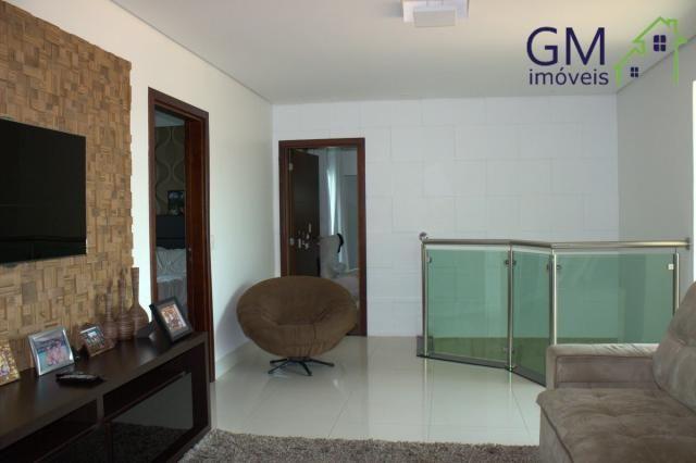 Casa a venda / setor de mansões / 4 suítes / piscina / churrasqueira / varanda / sobradinh - Foto 17