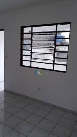 Casa com 2 dormitórios para alugar, 70 m² por r$ 1.100,00/mês - parque maria helena - são  - Foto 8