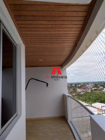 Apartamento com 2 dormitórios e 1 suíte com closet, para alugar, 110 m² por r$ 2.600/mês - - Foto 12