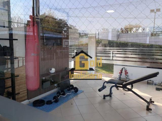 Apartamento com 2 dormitórios para alugar, 46 m² por R$ 1.200/mês - Jardim Heitor Rigon -  - Foto 14