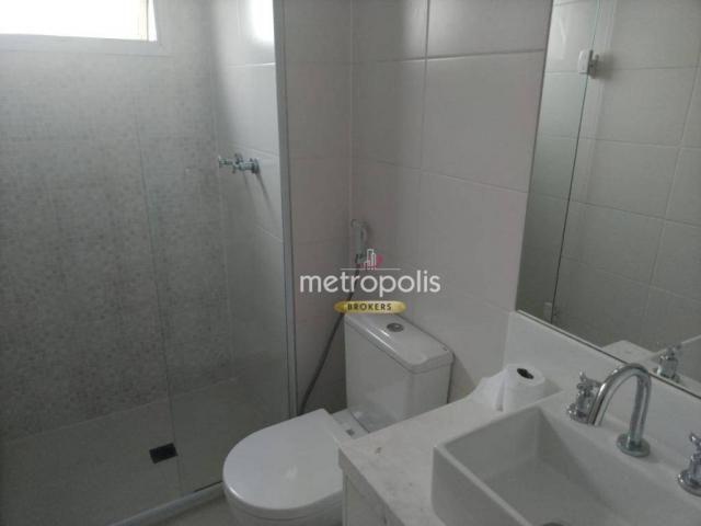 Apartamento com 2 dormitórios para alugar, 69 m² por r$ 2.500/mês - cerâmica - são caetano - Foto 18