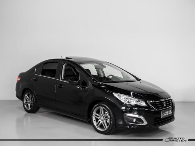 Peugeot 408 Sedan Griffe 1.6 TB Flex 16V 4p Aut. - Preto - 2019