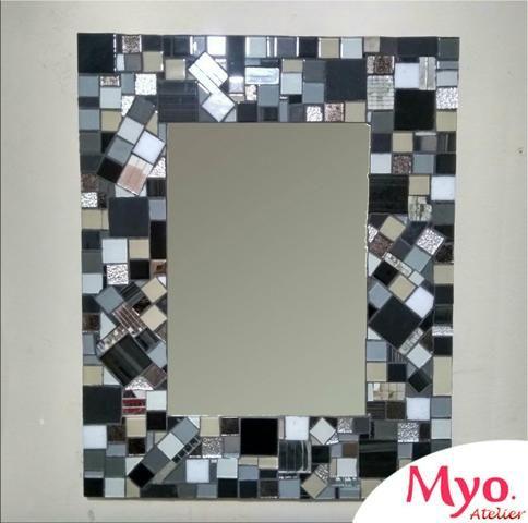 Quadro mosaico, espelho mosaico, decoração, mosaico - Foto 4