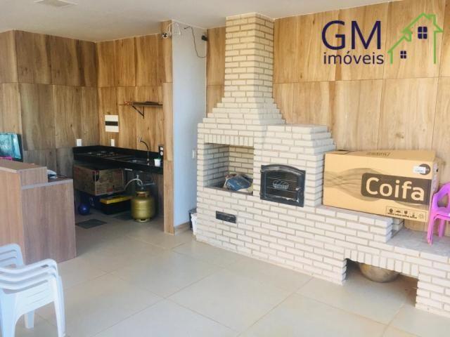 Casa a venda / condomínio rk / 03 quartos / churrasqueira / piscina / aceita casa de menor - Foto 3