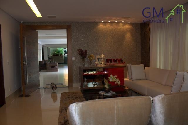 Casa a venda / setor de mansões / 4 suítes / piscina / churrasqueira / varanda / sobradinh - Foto 10