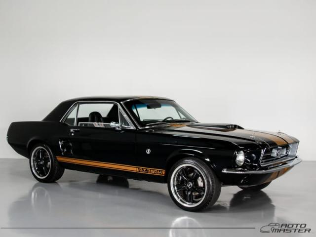 Ford Mustang GT Hard Top 5.0 V8 - Preto - 1967