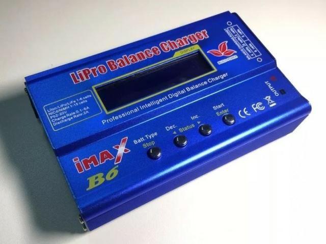 Carregador Bateria Lipo Imax B6 80w - Foto 2