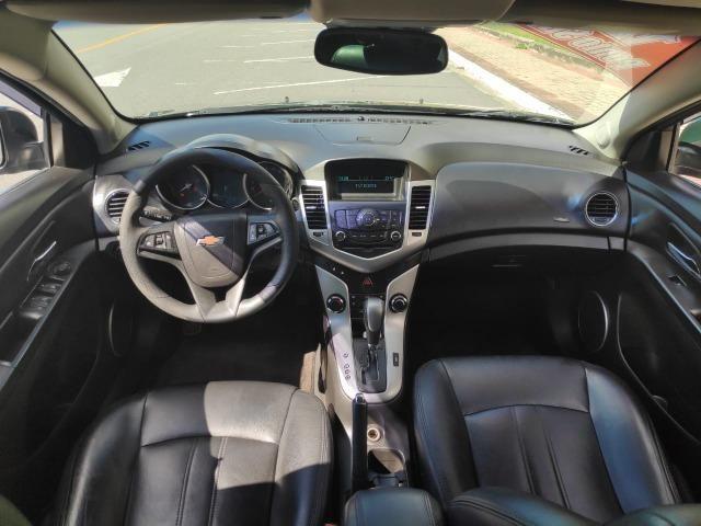 E# Chevrolet Cruze sedan LT 1.8 - completo - couro - conservado - automatico - Foto 9