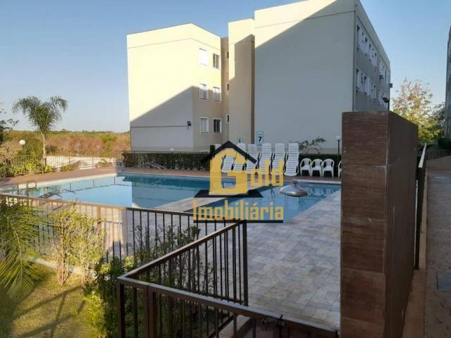 Apartamento com 2 dormitórios para alugar, 46 m² por R$ 1.200/mês - Jardim Heitor Rigon -  - Foto 19