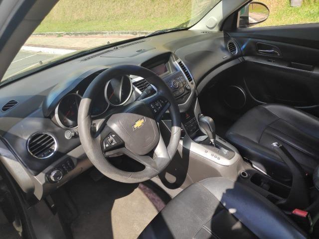 E# Chevrolet Cruze sedan LT 1.8 - completo - couro - conservado - automatico - Foto 10