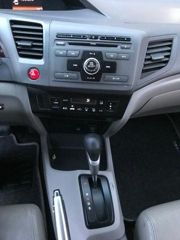 Civic LXL 1.8 Automático Flex Completão 2013 - Só precisa ter nome limpo - Foto 12