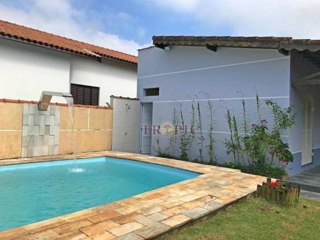 Casa na praia com 2 dormitórios à venda, 180 m² por r$ 510.000,00 - morada praia - bertiog
