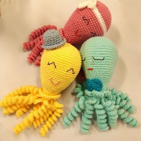 Boneca e bichinhos amigurumi - Foto 2