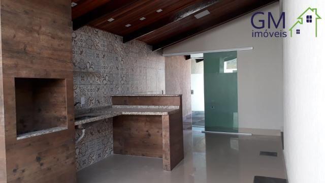 Casa a venda / condomínio jardim europa ii / 03 quartos / churrasqueira / garagem / aceita - Foto 5