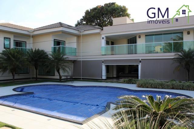 Casa a venda / setor de mansões / 4 suítes / piscina / churrasqueira / varanda / sobradinh - Foto 7